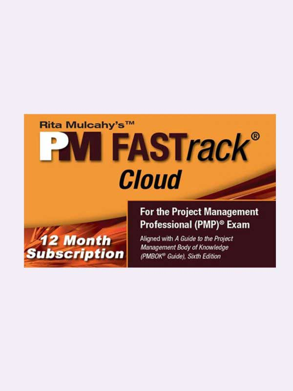 Rita Mulcahy's PM FASTrack® Cloud – PMP® Exam Simulator – Version 9 – 12 Month