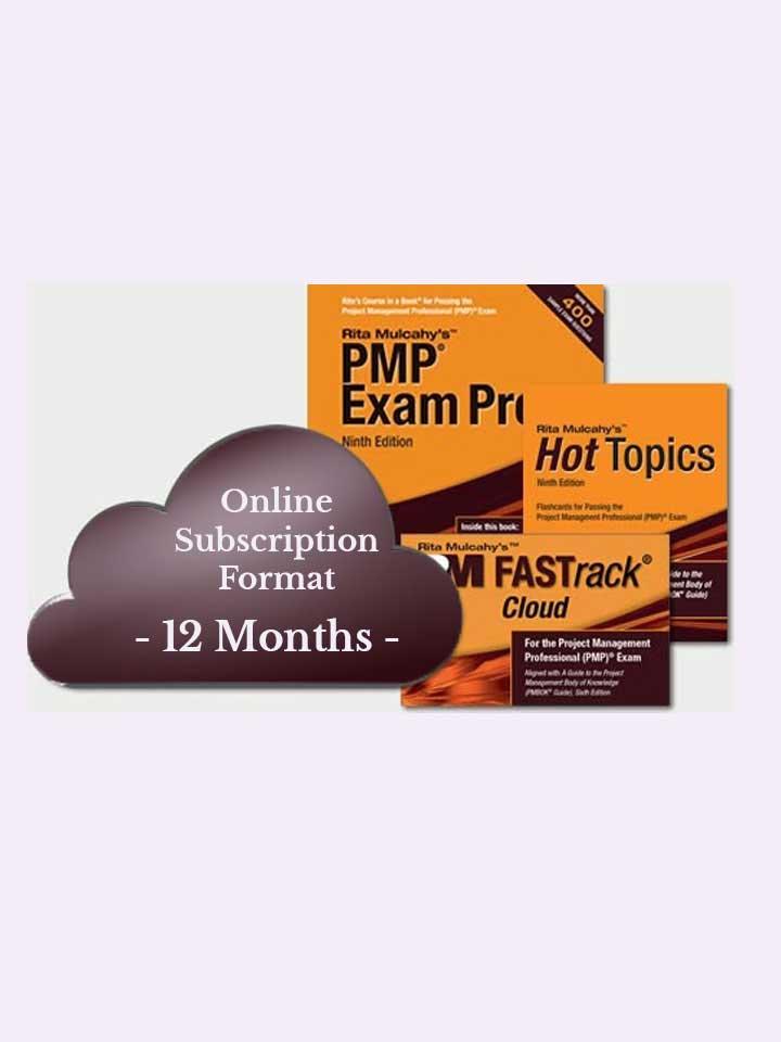 Rita Mulcahy's PMP® Exam Prep System, Ninth Edition – Cloud Subscription – 12 Month