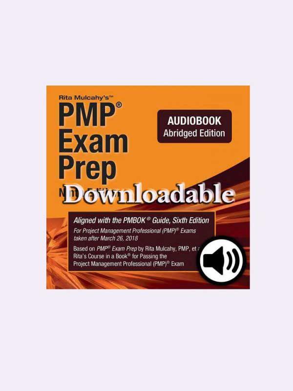 Rita Mulcahy PMP® Audio Book (Abridged) – Downloadable